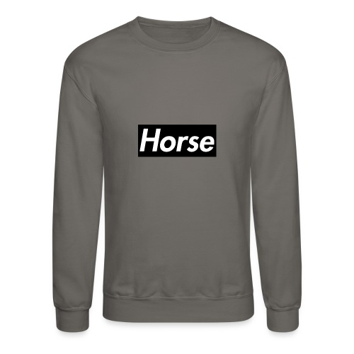 Horse Logo - Crewneck Sweatshirt