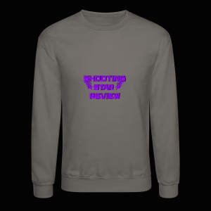 Shooting Star Review Purple Logo - Crewneck Sweatshirt