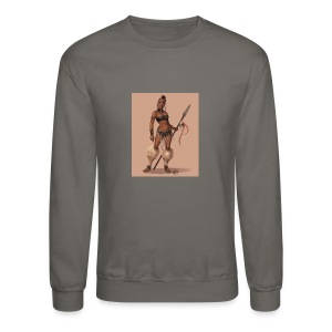 Female Warrior - Crewneck Sweatshirt