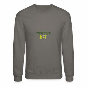 New Trojan Bat Logo - Crewneck Sweatshirt