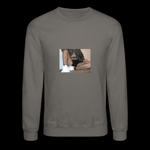 self modeled - Crewneck Sweatshirt