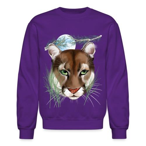 Midnight Puma - Crewneck Sweatshirt
