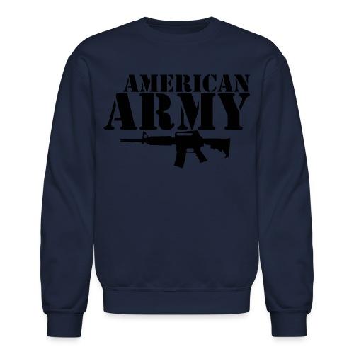 AMERICAN ARMY BLACK - Crewneck Sweatshirt