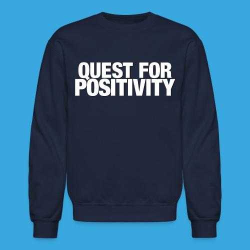 Quest for Positivity Q4P - Crewneck Sweatshirt