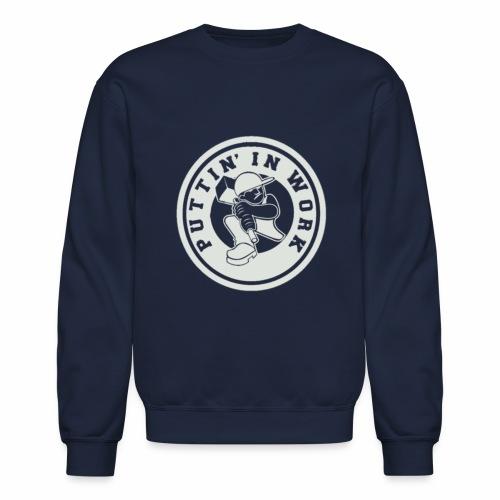 P.I.W White Logo - Crewneck Sweatshirt