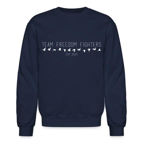 team freedom fighters log - Unisex Crewneck Sweatshirt