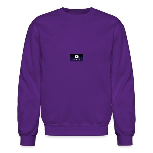 my life is youtube poster - Crewneck Sweatshirt
