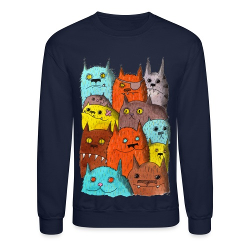 The Cats of Meow Tyson B - Crewneck Sweatshirt
