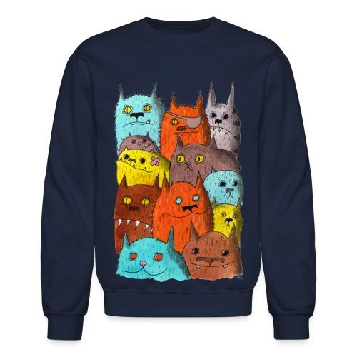 The Cats of Meow Tyson B - Unisex Crewneck Sweatshirt