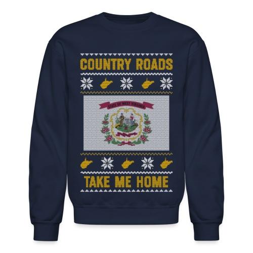 country roads - Crewneck Sweatshirt