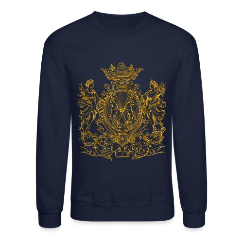 peace and prosperity coat of arms - Unisex Crewneck Sweatshirt