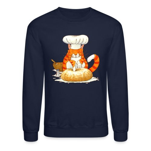 Chef Cat by Rachael B - Crewneck Sweatshirt