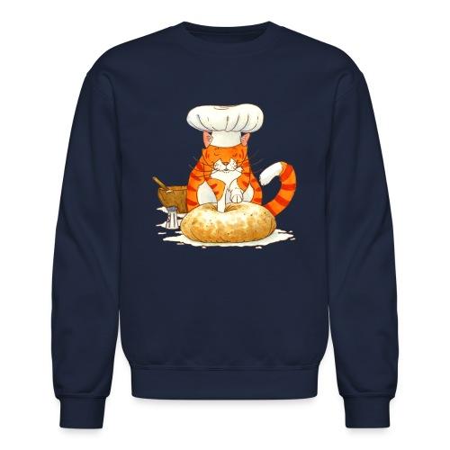 Chef Cat by Rachael B - Unisex Crewneck Sweatshirt