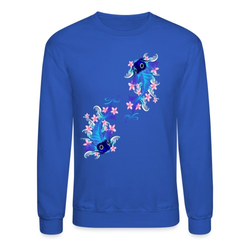 Two Blue Koi - Crewneck Sweatshirt