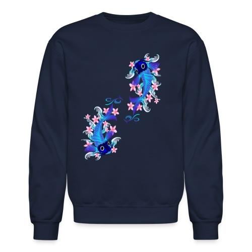 Two Blue Koi - Unisex Crewneck Sweatshirt