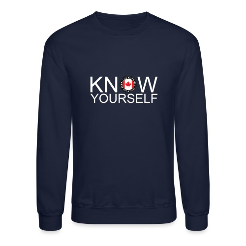 Know Yourself - Unisex Crewneck Sweatshirt