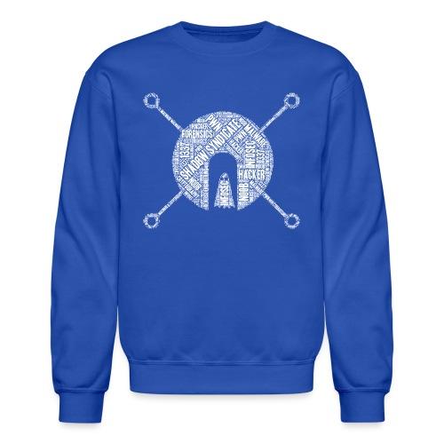 Shad0w Synd1cate Word Cloud (White logo) - Crewneck Sweatshirt