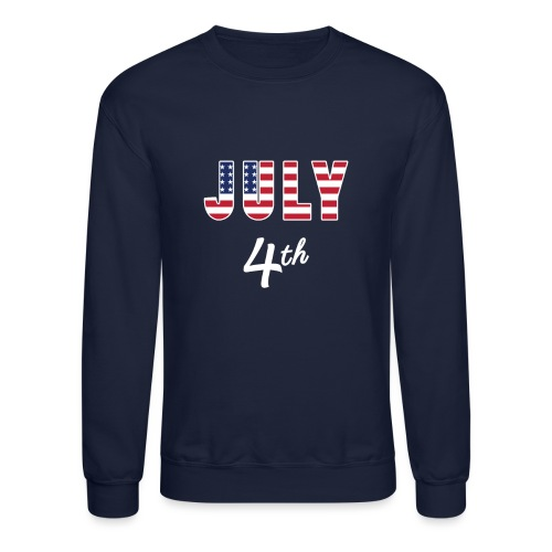 July 4th - Crewneck Sweatshirt