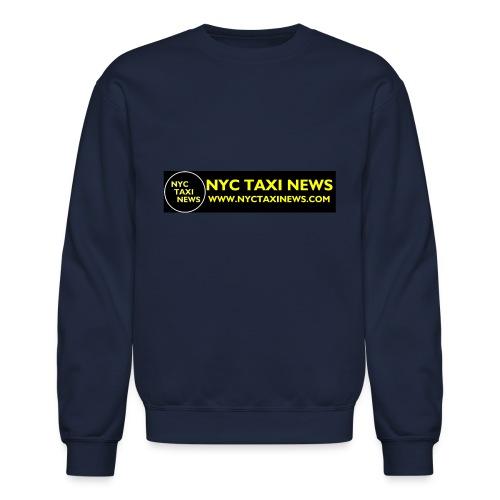 NYC TAXI NEWS - Crewneck Sweatshirt