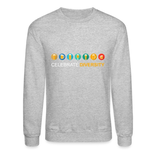 Celebrate Diversity - Crewneck Sweatshirt