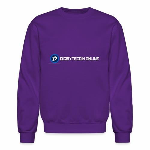 Digibyte online light - Crewneck Sweatshirt