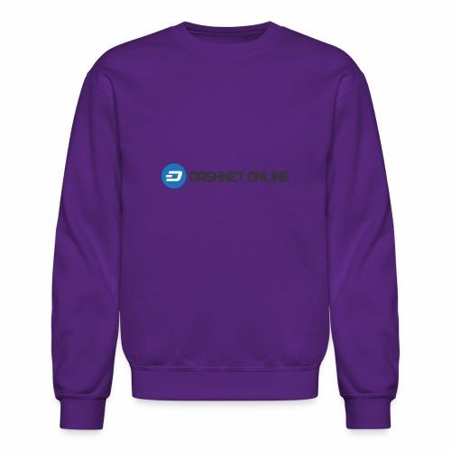 dashnet online dark - Crewneck Sweatshirt