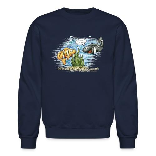 when clownfishes meet - Crewneck Sweatshirt