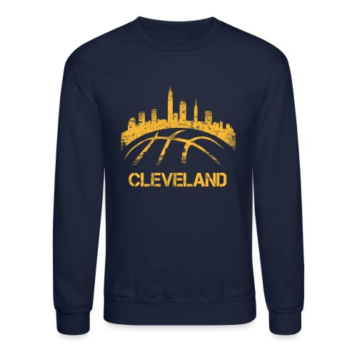Cleveland Basketball Skyline - Crewneck Sweatshirt