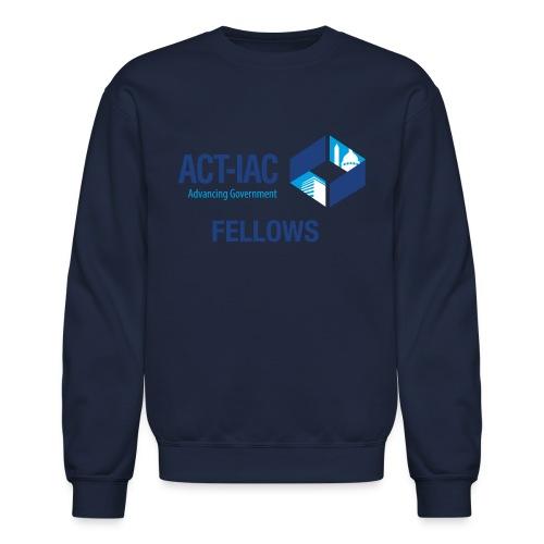 colored WITH TEXT Fellows actiac logo cmyk - Crewneck Sweatshirt