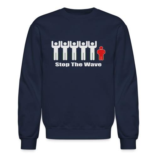 Men's Stop The Wave Logo T-Shirt - Unisex Crewneck Sweatshirt