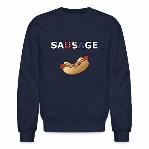 Patriotic BBQ Sausage - Crewneck Sweatshirt