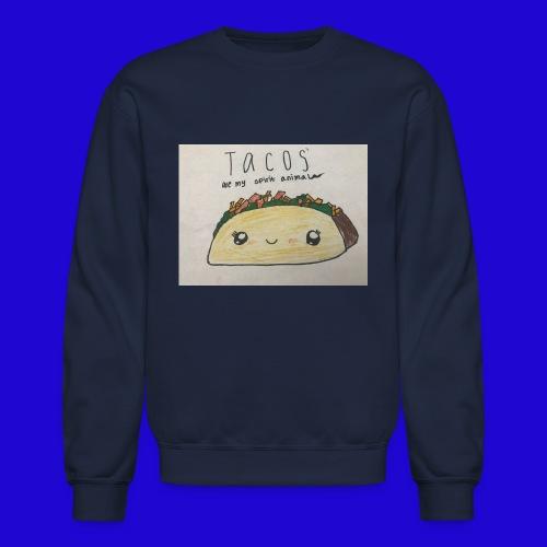 Tacos are my Spirit Animal - Crewneck Sweatshirt