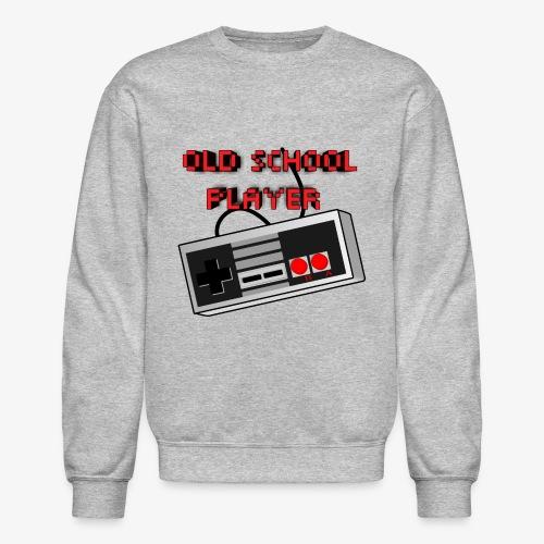 Old School Player - Crewneck Sweatshirt
