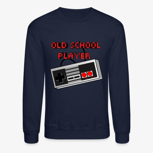 Old School Player - Crewneck Sweatshirt