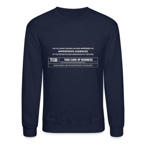 TCB Films Disclamer - Crewneck Sweatshirt
