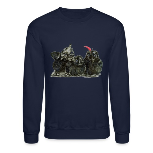 Three Young Crows - Crewneck Sweatshirt
