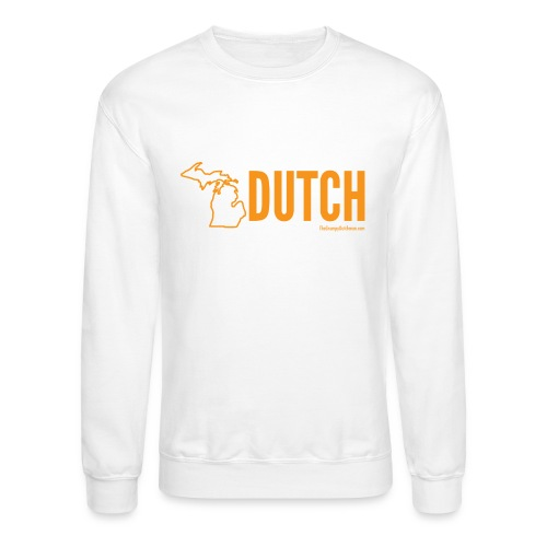 Michigan Dutch (orange) - Crewneck Sweatshirt