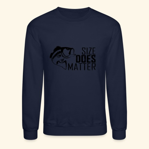 07 size does matter copy - Crewneck Sweatshirt