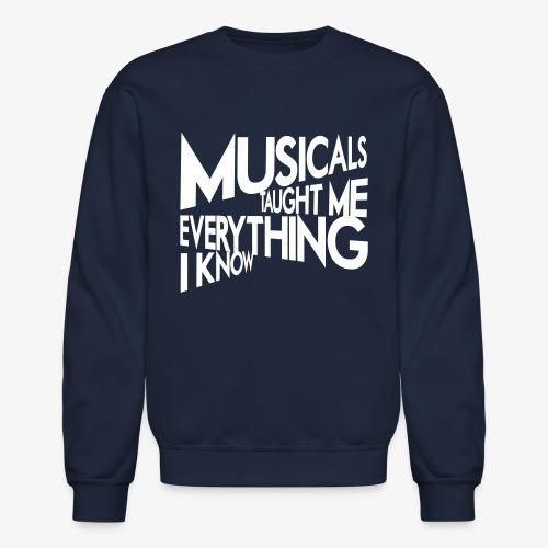 MTMEIK White Logo - Crewneck Sweatshirt