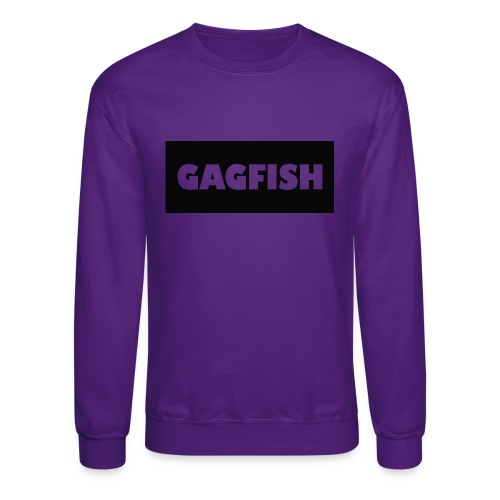 GAGFISH BLACK LOGO - Crewneck Sweatshirt