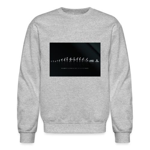 DIFFERENT STAGES OF HUMAN - Crewneck Sweatshirt