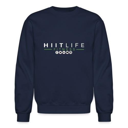 hlfsocialwht - Crewneck Sweatshirt