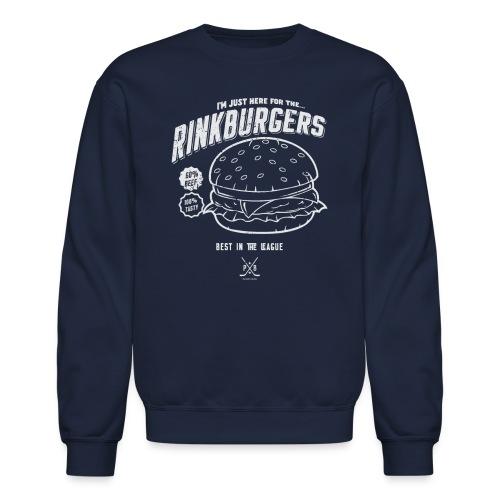 JUST RINK BURGER - Crewneck Sweatshirt