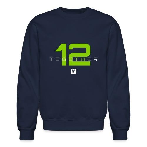 together 2 green new - Crewneck Sweatshirt