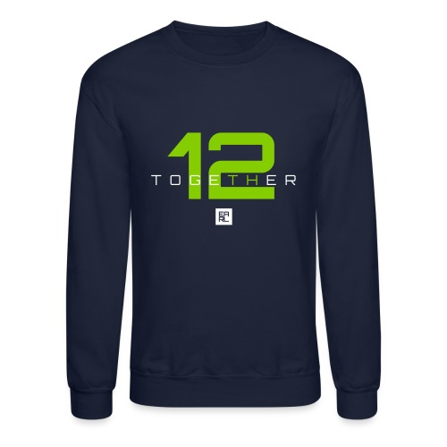 together 2 green new - Unisex Crewneck Sweatshirt