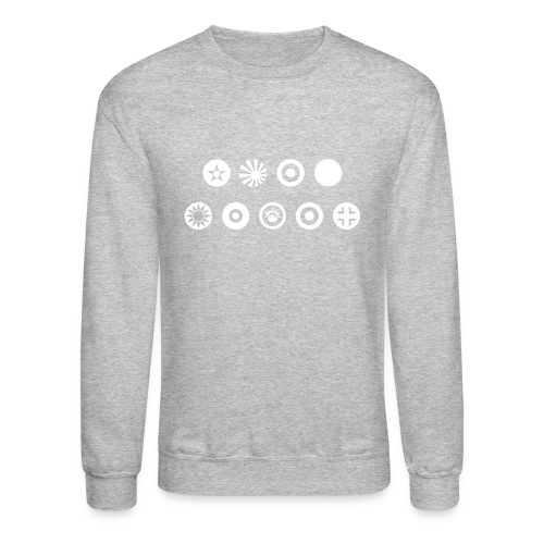 Axis & Allies Country Symbols - One Color - Unisex Crewneck Sweatshirt