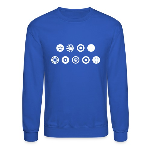 Axis & Allies Country Symbols - One Color - Unisex Crewneck Sweatshirt