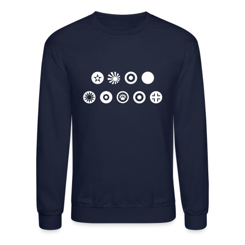 Axis & Allies Country Symbols - One Color - Crewneck Sweatshirt