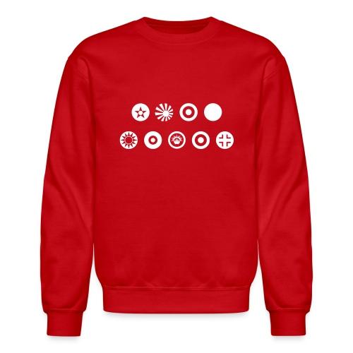 Axis & Allies Country Symbols - One Color - Crewneck Sweatshirt