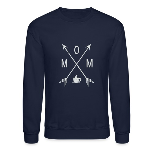 Mom Loves Coffee - Crewneck Sweatshirt